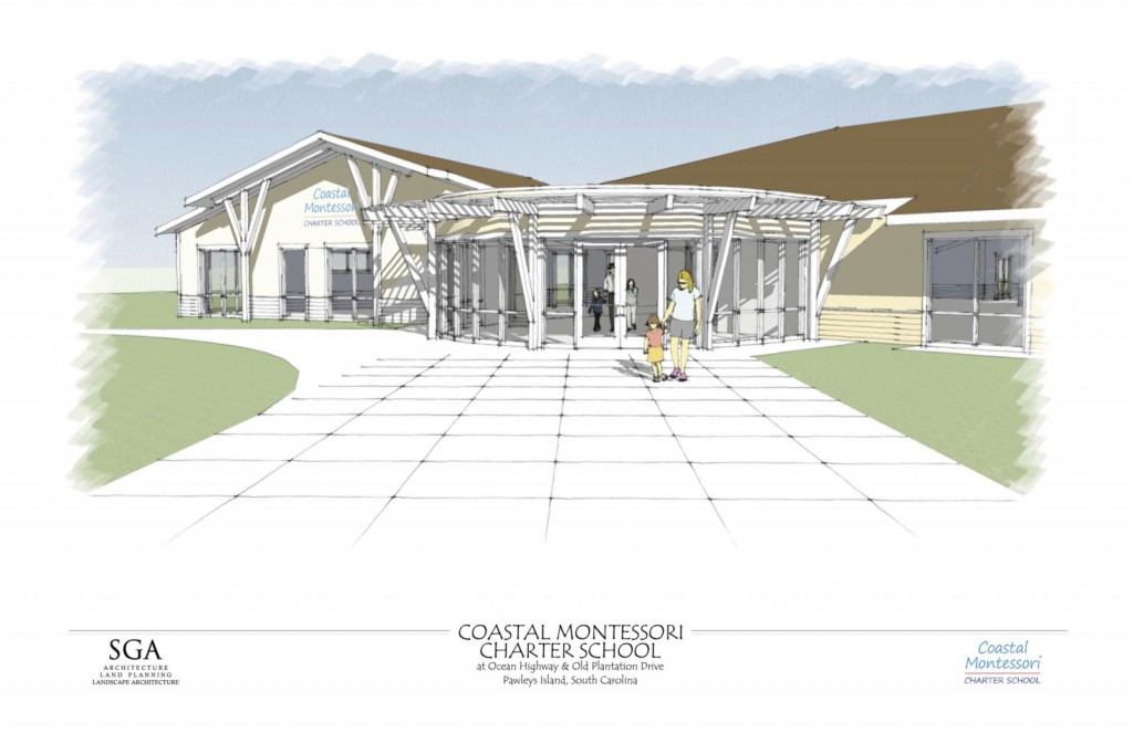 CMCS Entrance Drawing