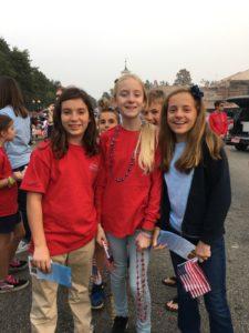 Veterans Parade girls